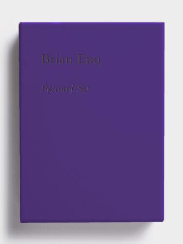 Postcard Set (Purple) by Brian Eno