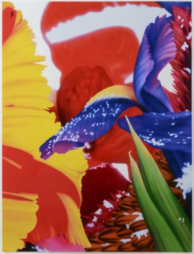 Portraits of Landscapes 4 by Marc Quinn at Leslie Sacks Gallery (IFPDA)