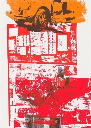 Read Bleed by Robert Rauschenberg