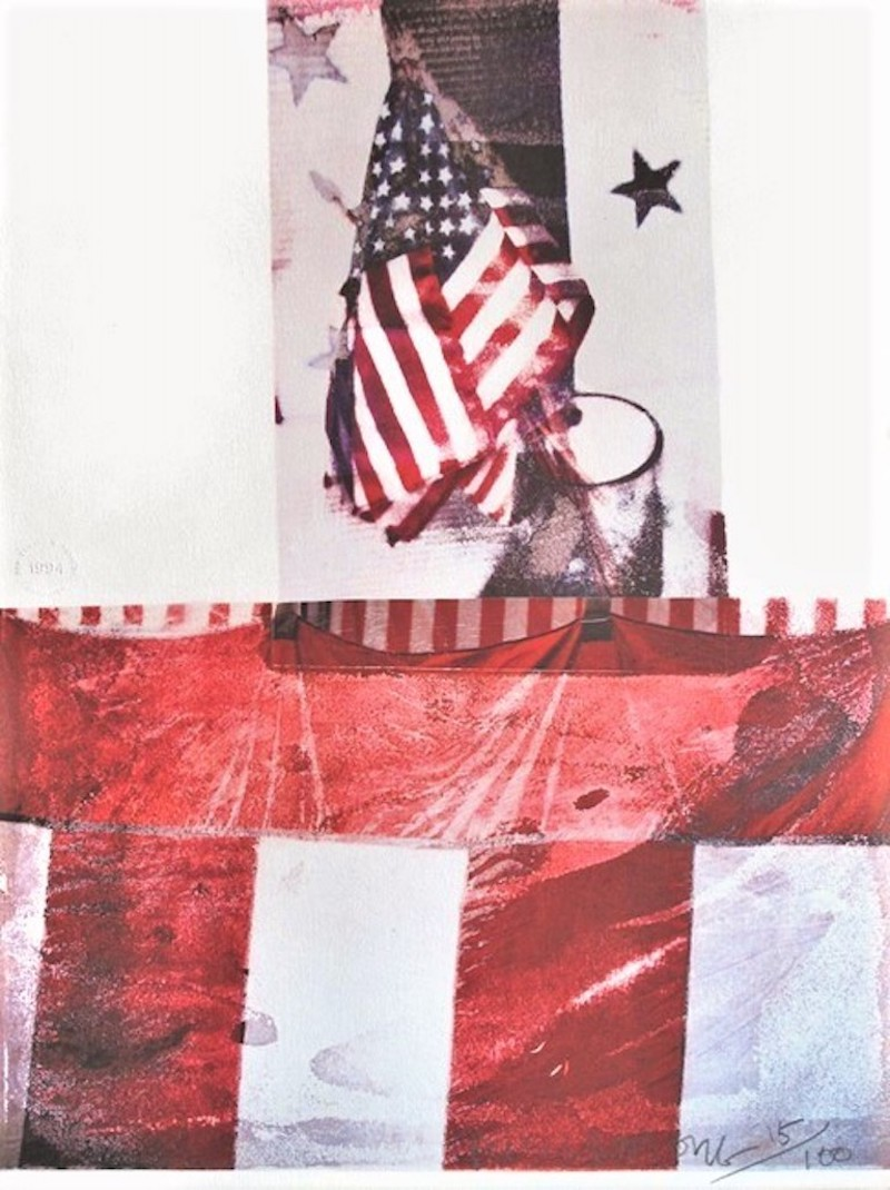 Untitled (For Kennedy) by Robert Rauschenberg
