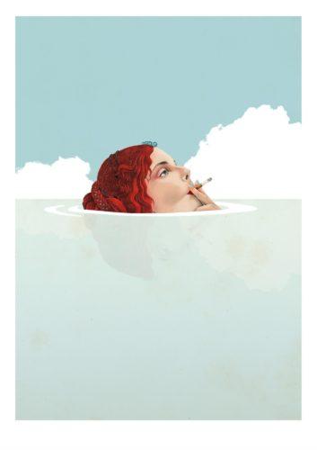 Smoke II by Delphine Lebourgeois
