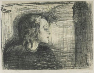 Det Syke Barn I (the Sick Child I) Edvard Munch