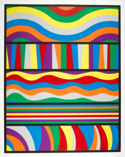 Linclon Center Print by Sol LeWitt