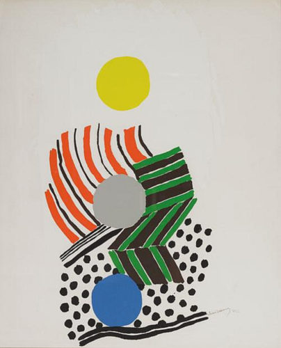 Untitled by Sonia Delaunay at