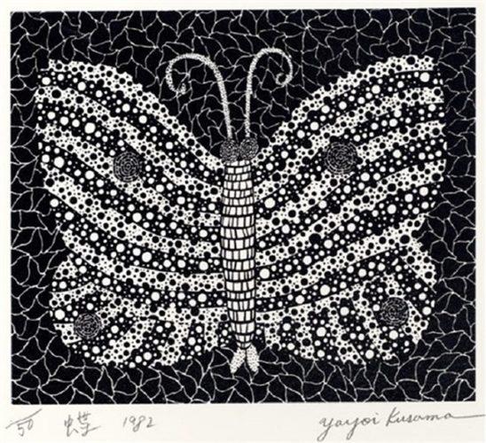 Butterfly (Kusama 18) by Yayoi Kusama