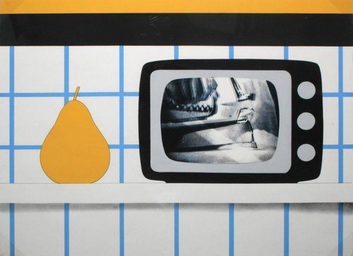 TV Still Life by Tom Wesselmann