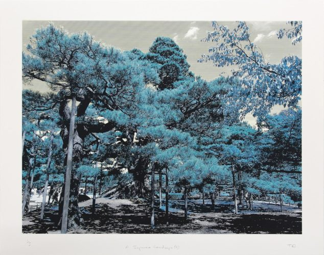 Japanese Landscape 2 by Trevor Abbott at
