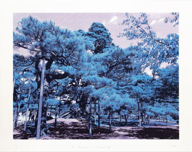 Japanese Landscape 4 by Trevor Abbott