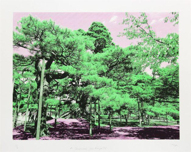 Japanese Landscape 5 by Trevor Abbott at