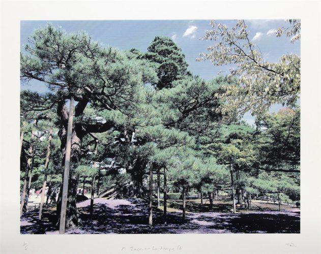 Japanese Landscape 6 by Trevor Abbott at