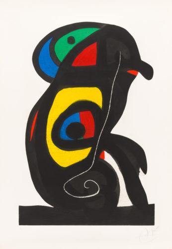 Le Brahmane by Joan Miro
