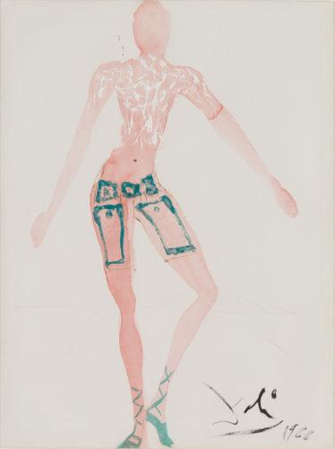 Costume De L'an 2000, Pantalon Court by Salvador Dali