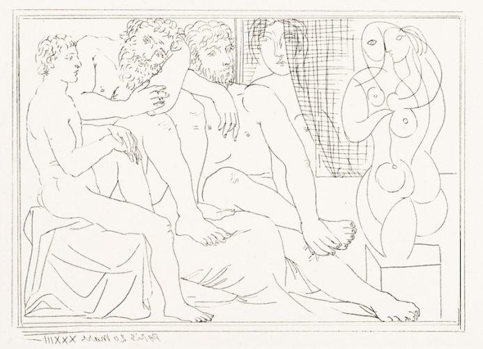 Sculpteurs, Modèles et Sculpture by Pablo Picasso