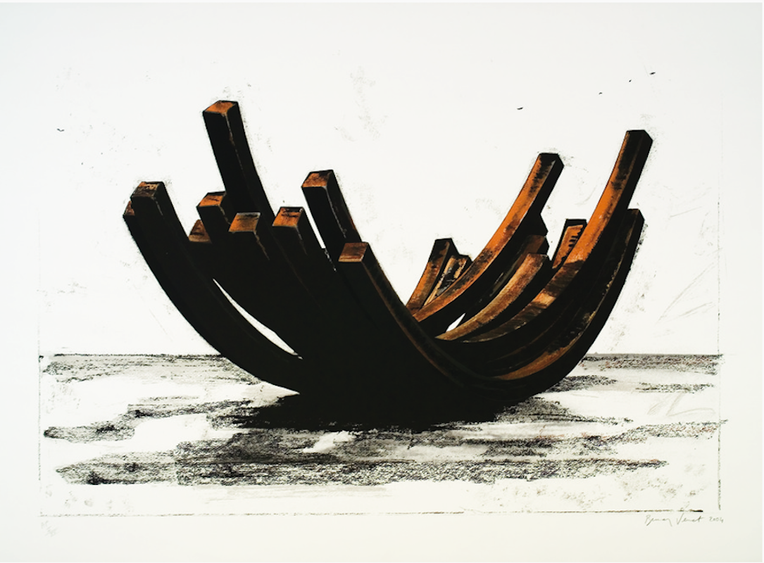 97.5 Arc x 14 by Bernar Venet