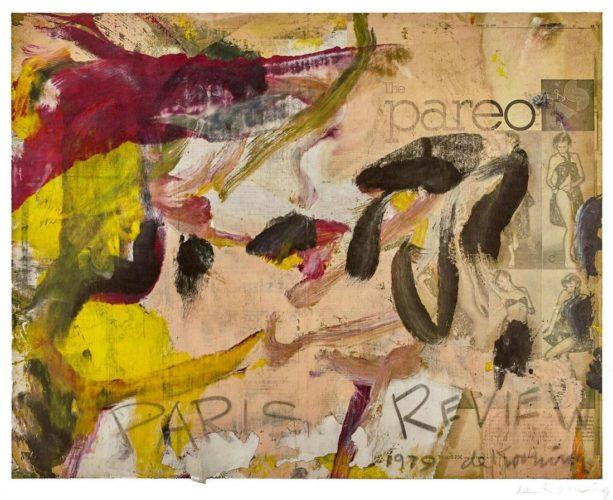 Paris Review by Willem De Kooning