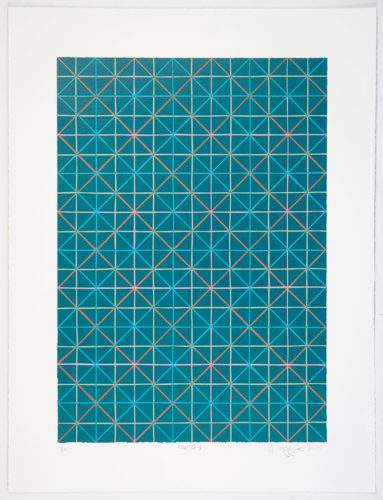 Blue Grid by Jonathan Higgins at