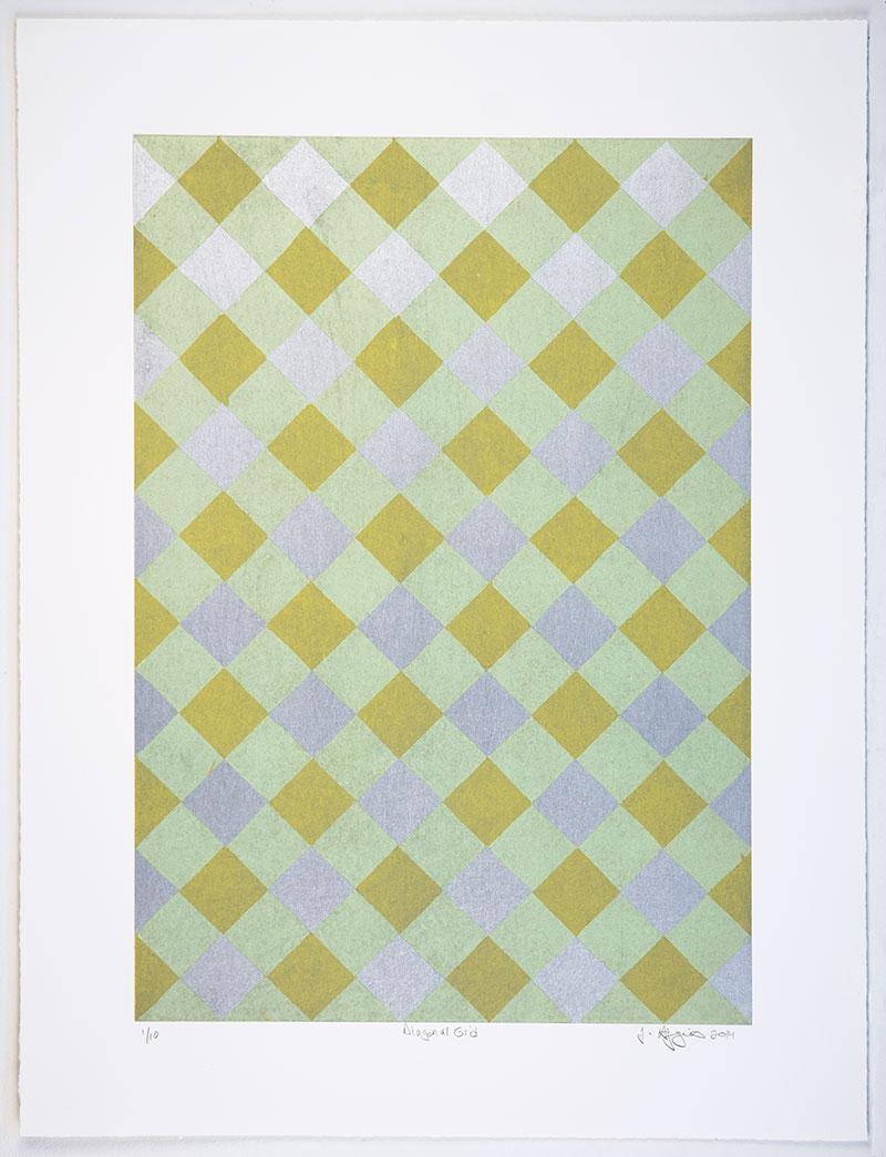 Diagonal Grid by Jonathan Higgins