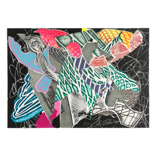 Hudson River Valley by Frank Stella at