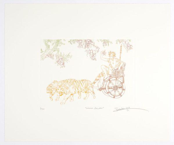 Carracci Bacchus by Rabiq Shaw