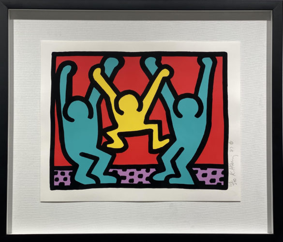 Pop Shop I B by Keith Haring at