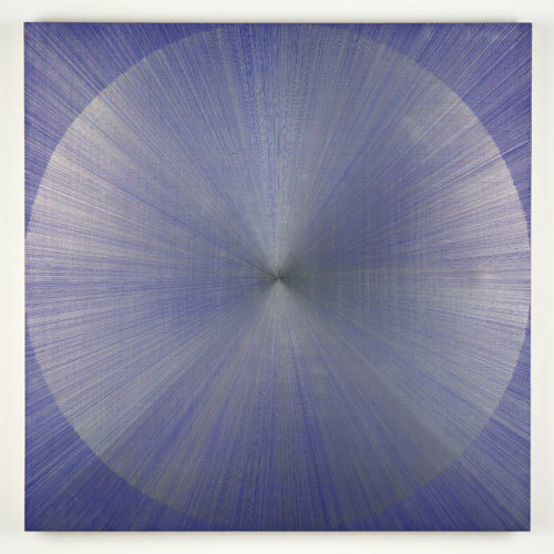 Untitled 3 (blue) by Jonathan Higgins at