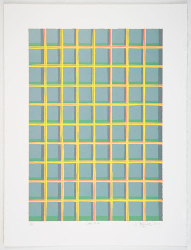 Yellow Grid by Jonathan Higgins