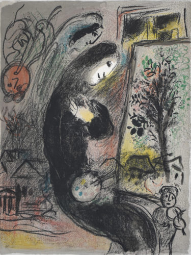 Inspired | L'Inspiré by Marc Chagall at
