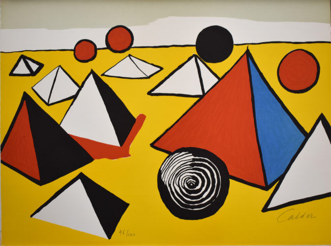 Composition VI, from The Elementary Memory by Alexander Calder