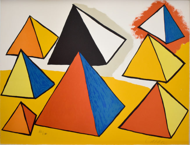 Composition IX, from The Elementary Memory by Alexander Calder at