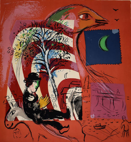 The Rainbow by Marc Chagall
