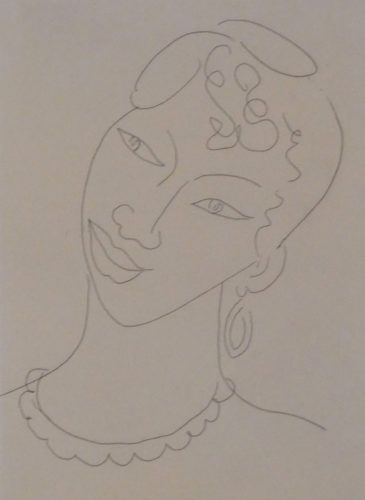 Portrait of a Martinican Woman / La Martiniquaise by Henri Matisse at