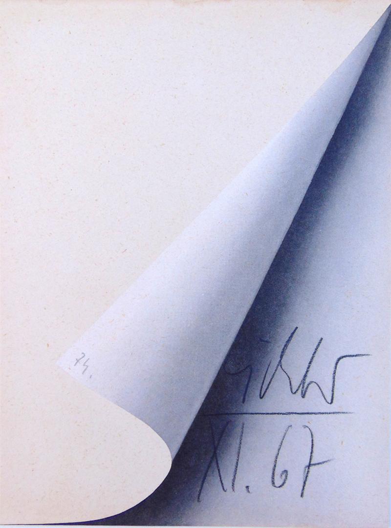 Sheet Corner by Gerhard Richter