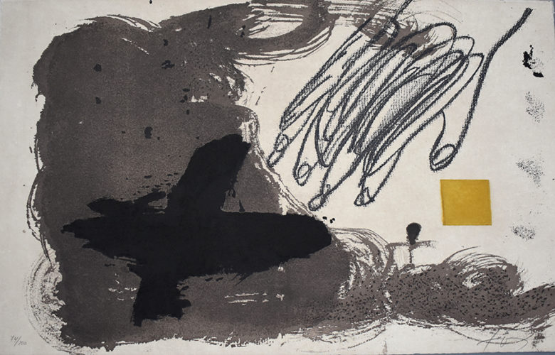 Untitled, from: 12th Anniversary Galeria Joan Prats by Antoni Tapies