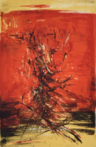 Untitled 159, 1965 by Zao Wou-ki at