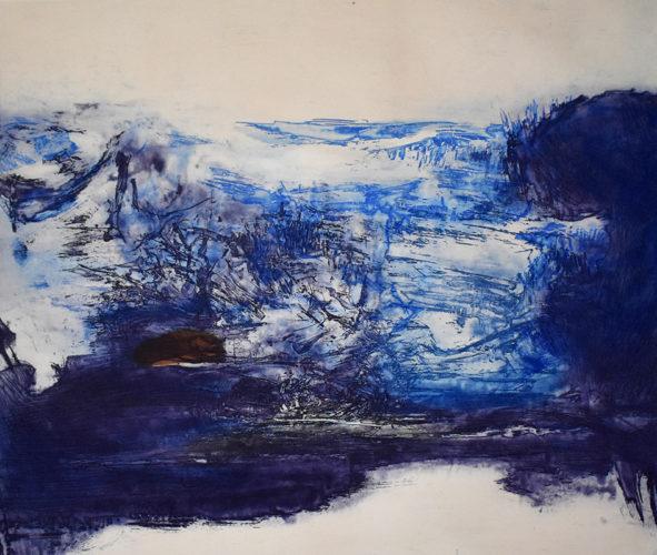 Etching No. 189 by Zao Wou-ki