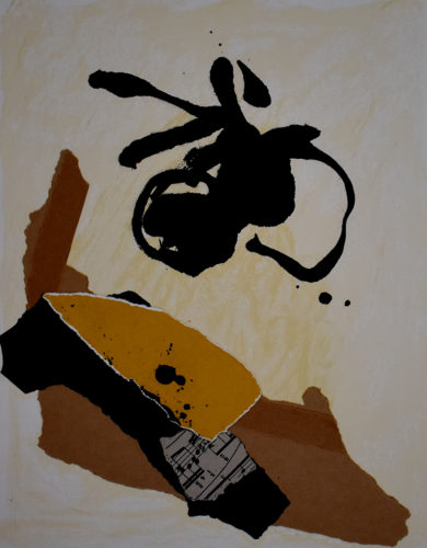 Untitled, from: 12th Anniversary Galeria Joan Prats by Robert Motherwell