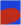 Red/Blue (Untitled) – from Ten Works x Ten Painters by Ellsworth Kelly