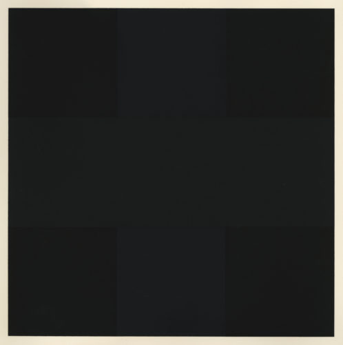 Untitled (Black Grid) – from Ten Works x Ten Painters by Ad Reinhardt at