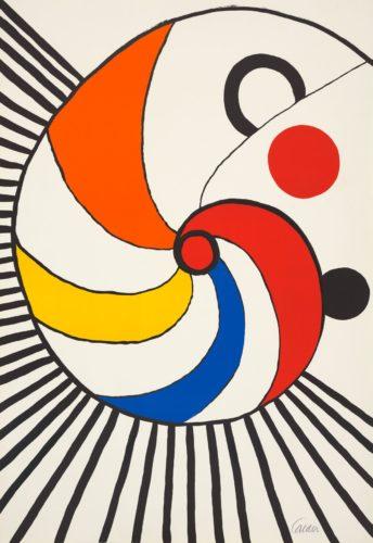 Spirale Multicolore by Alexander Calder