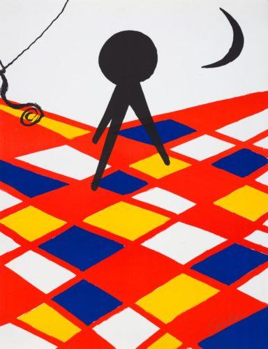 Tabouret à Trois Pieds by Alexander Calder at