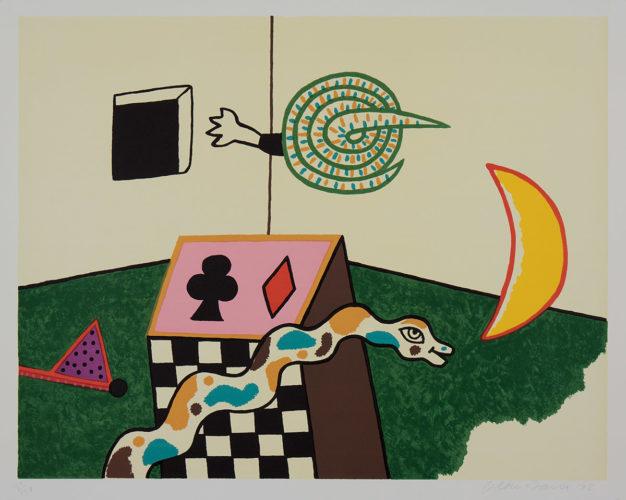 Snake Box by Alan Davie at