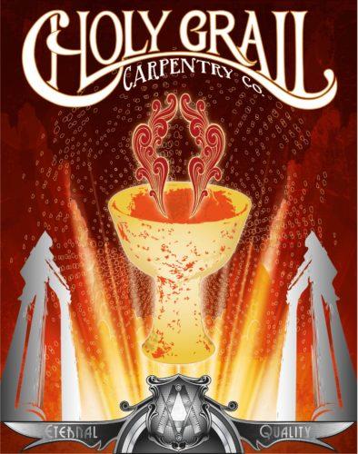 Holy Grail Carpentry (Spiritus Series) by Booda Brand