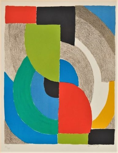 Helice Olympie by Sonia Delaunay