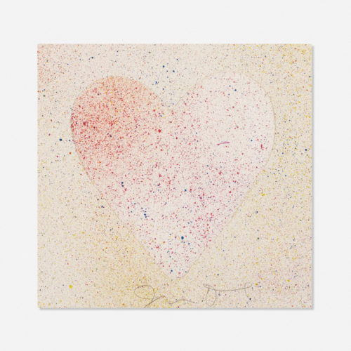 Confetti Heart by Jim Dine