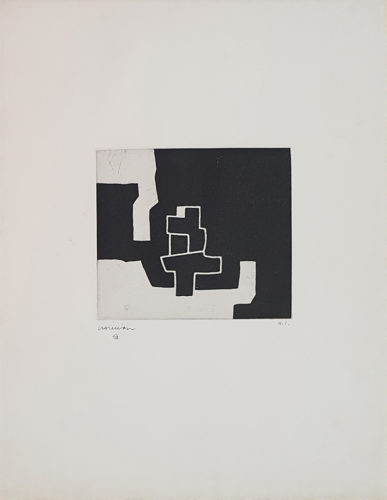 Aldizkatu IV by Eduardo Chillida