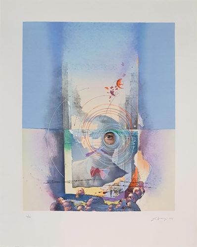 ' Los Negros' (Federico en Nueva York) by Eduardo Naranjo at