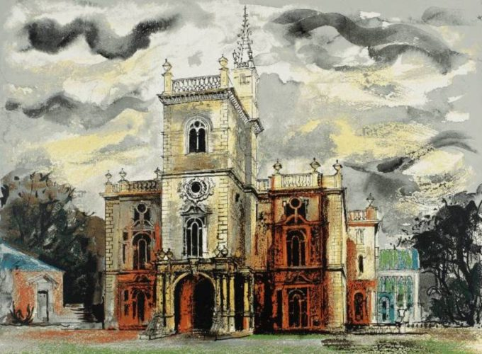 Flintham Hall by John Piper