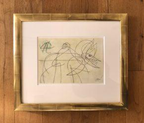 Femme Oiseau by Joan Miro at Fairhead Fine Art