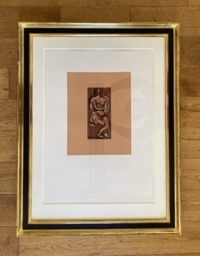 Seated Nude by Pablo Picasso at Fairhead Fine Art