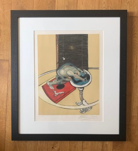 L'Homme au Lavabo  by Francis Bacon at Fairhead Fine Art